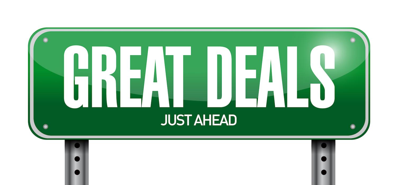 Great Deals Ahead