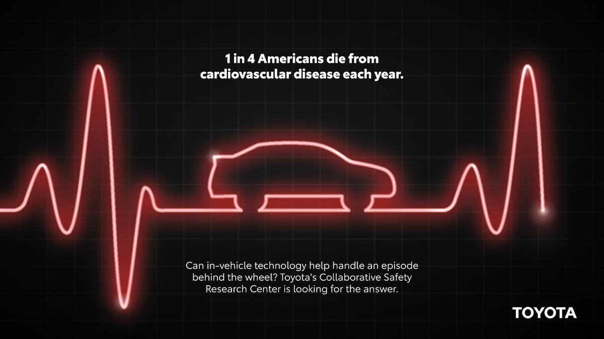 1 in 4 Americans die from cardiovascular disease each year.