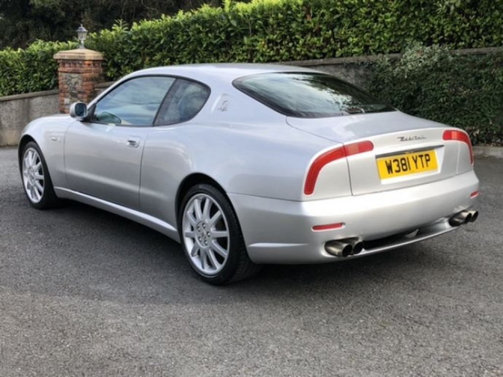 Used Silver 2000 MASERATI 3200 3.2 V8 GT Coupe 2d stk ...