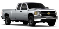 Used, 2010 Chevrolet Silverado 3500HD SRW Work Truck, White, P38511-1
