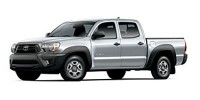 Used, 2013 Toyota Tacoma 4WD Double Cab LB V6 AT (Natl), White, 019153-1