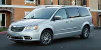 Used, 2016 Chrysler Town & Country Touring, White, P38176-1