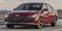 New, 2021 Hyundai Elantra Limited IVT *Ltd Avail*, Orange, 11484-1