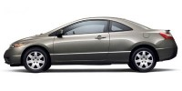 Used, 2007 Honda Civic LX, Gray, P38669-1