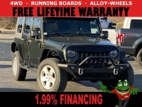 Used, 2008 Jeep Wrangler Unlimited Sahara, Green, 65086A-1