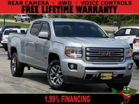 Used, 2015 GMC Canyon Crew Cab SLE Longbed, Silver, 66204L-1