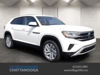 Certified, 2020 Volkswagen Atlas Cross Sport 3.6L V6 SE w/Technology 4MOTION, White, T227147-1
