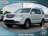 Used, 2013 Honda Pilot Touring, White, P37963-A-1